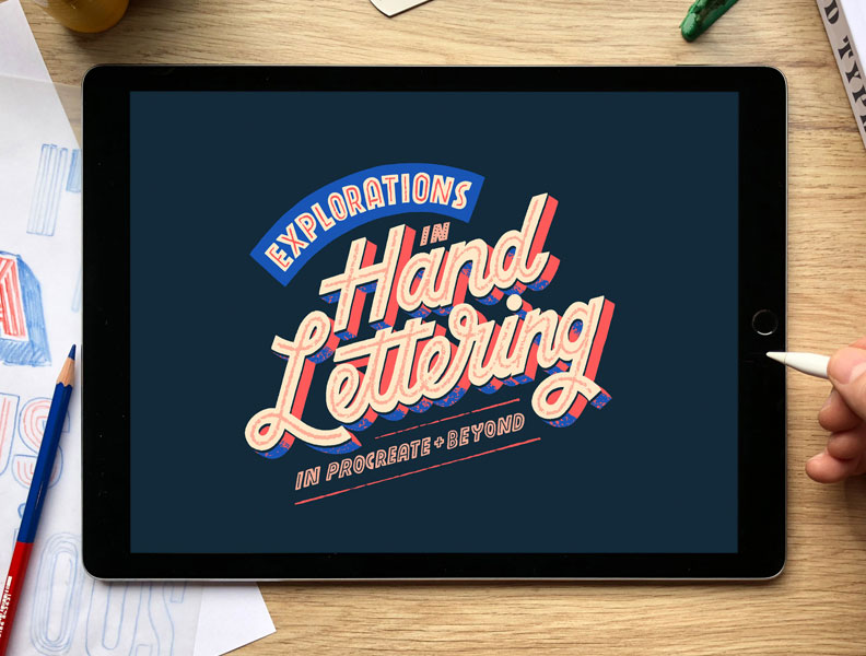 Explorations in Hand Lettering